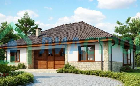 Проект дома из газобетона №23