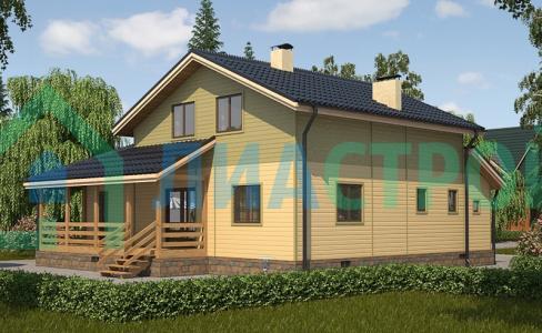 Проект каркасного дома №21