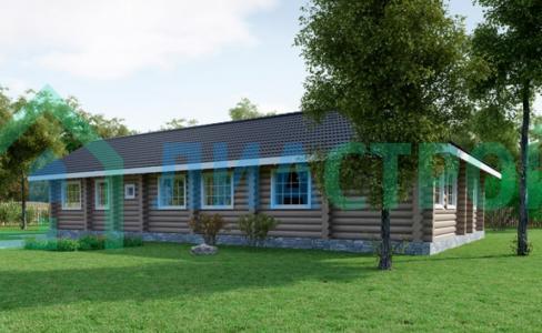 Проекты дома из бревна №26