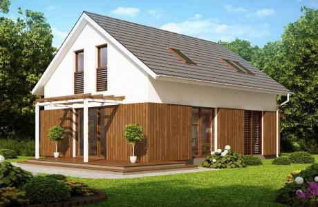 Проект дома из газобетона №16