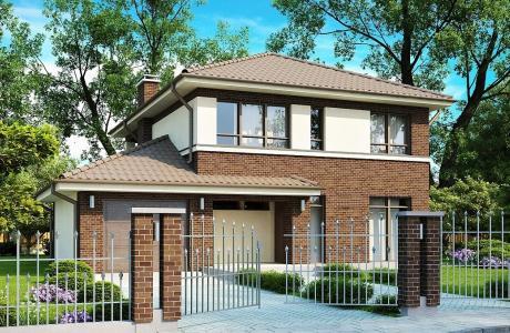 Проект дома из газобетона №20