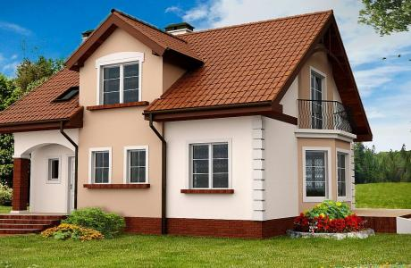 Проект дома из газобетона №21
