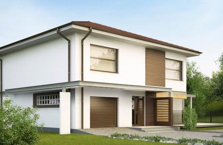 Проект дома из газобетона №26