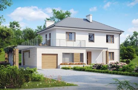 Проект дома из газобетона №27
