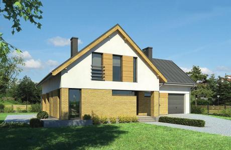 Проект дома из кирпича №20