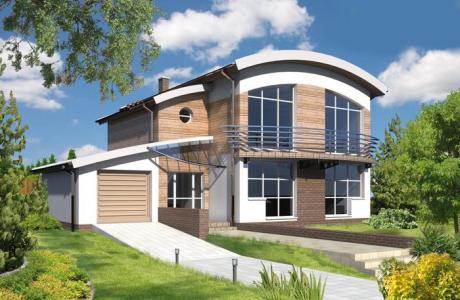 Проект дома из кирпича №23
