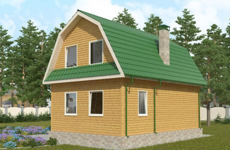 Проекты дома из бруса №26