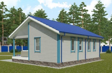 Проекты дома из бруса №30